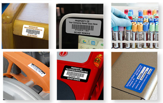 Tracking Labels, Security Labels, Identification Labels