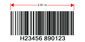 128-A auto-switching barcode