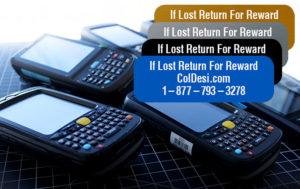 return for a reward label